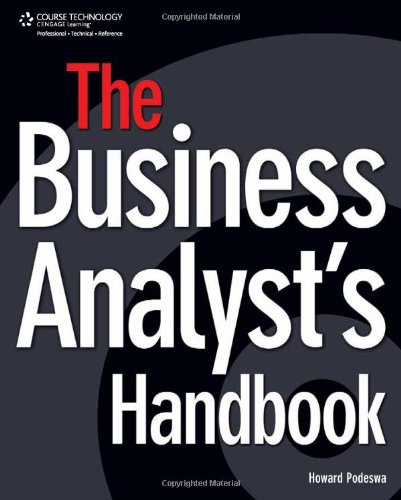 Business Analyst's Handbook   2009 edition cover