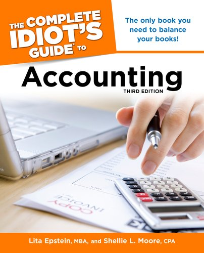 Complete Idiot's Guide to Accounting  3rd edition cover