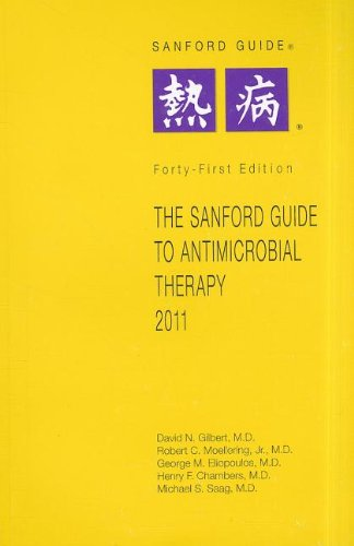 Sanford Guide to Antimicrobial Therapy 2011  41st 2011 edition cover