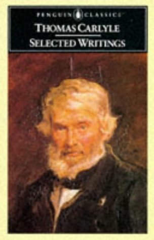 Selected Writings Carlyle  1971 edition cover