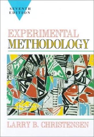 Experimental Methodology  7th 1997 edition cover