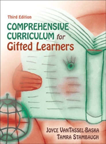Comprehensive Curriculum for Gifted Learners  3rd 2006 (Revised) edition cover