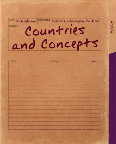 Countries and Concepts Politics, Geography, Culture 12th 2013 (Revised) edition cover