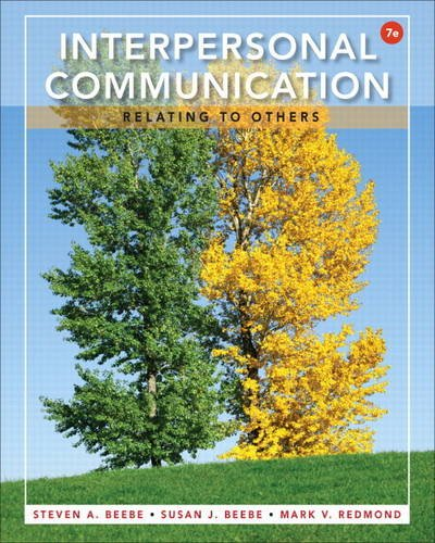 Interpersonal Communication Relating to Others 7th 2014 edition cover