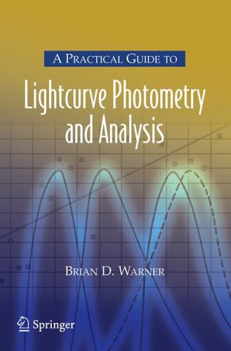 Practical Guide to Lightcurve Photometry and Analysis   2006 edition cover