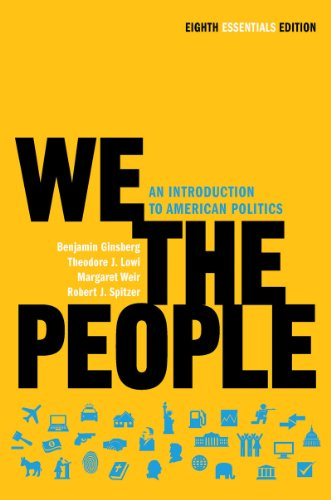 We the People An Introduction to American Politics 8th 2011 9780393935653 Front Cover