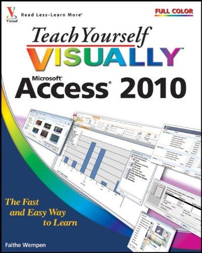 Microsoft Access 2010   2010 edition cover