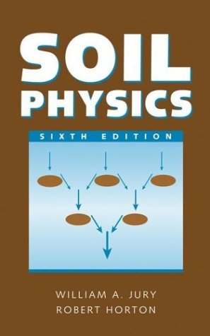 Soil Physics  6th 2004 (Revised) edition cover