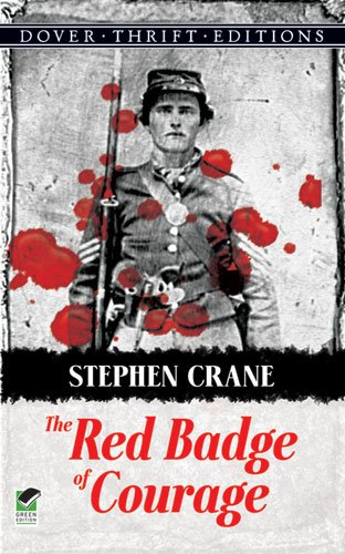 Red Badge of Courage   1990 edition cover