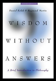 Wisdom Without Answers A Brief Introduction to Philosophy 5th 2002 (Revised) edition cover