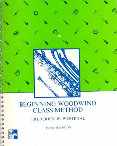 Beginning Woodwind Class Method  4th 1984 edition cover