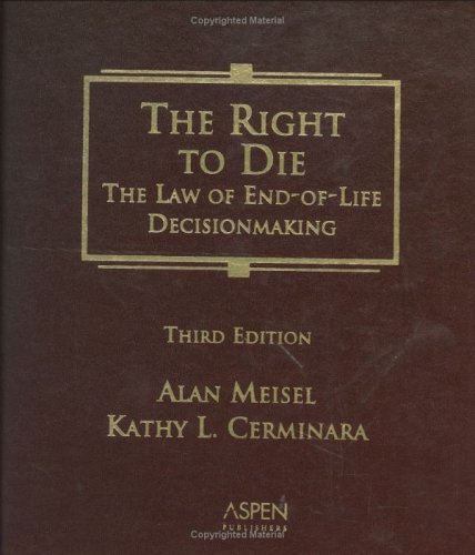 Right to Die  3rd 2004 (Revised) edition cover