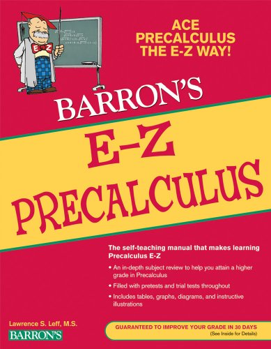 E-Z Precalculus  2nd 2010 (Revised) 9780764144653 Front Cover