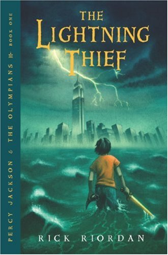 Lightning Thief  Reprint  9780786838653 Front Cover