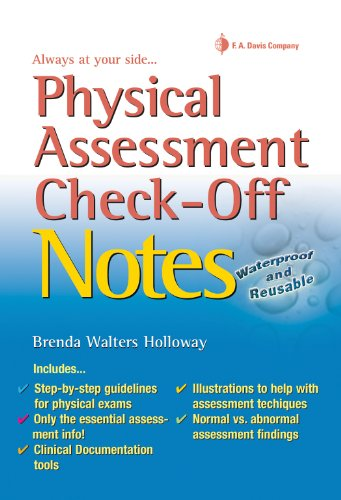 Physical Assessment Check-Off Notes  N/A edition cover