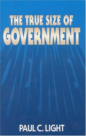 True Size of Government   1999 edition cover