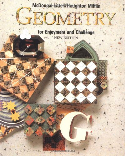 Geometry for Enjoyment and Challenge  Student Manual, Study Guide, etc. 9780866099653 Front Cover