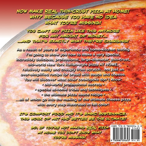 Ultimate Pizza Manual Make Pizza Like the Pros... Used To!  2008 edition cover