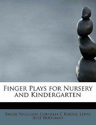 Finger Plays for Nursery and Kindergarten  N/A 9781115549653 Front Cover