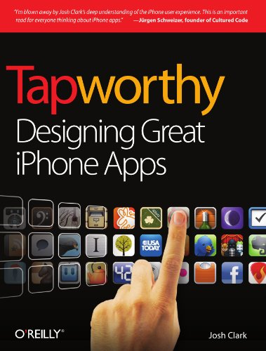 Tapworthy Designing Great iPhone Apps  2010 edition cover
