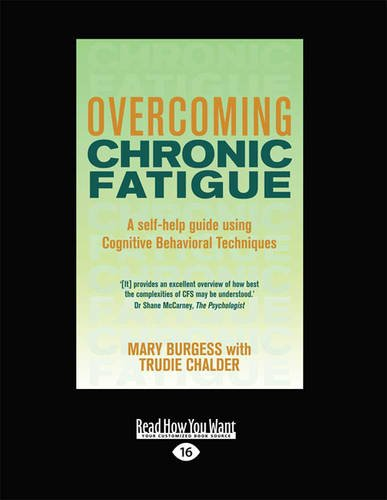 Overcoming Chronic Fatigue  0 edition cover