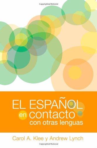 Espa�ol en Contacto Con Otras Lenguas   2009 edition cover