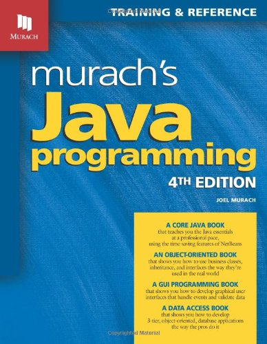 Murach's Java Programming  4th 2011 edition cover