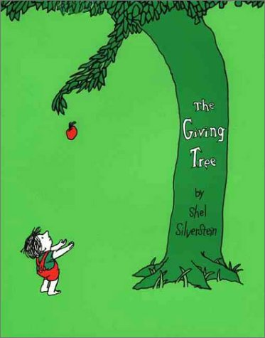 Giving Tree  50th 2011 (Anniversary) 9780060256654 Front Cover