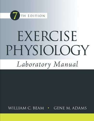 Exercise Physiology Laboratory Manual  7th 2014 9780078022654 Front Cover