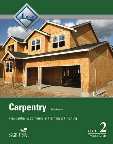 CARPENTRY LEVEL 2 TRAINING GUIDE (CL)   N/A 9780133404654 Front Cover