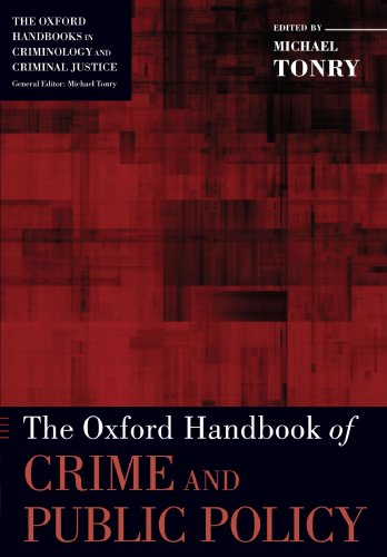 Oxford Handbook of Crime and Public Policy   2011 edition cover