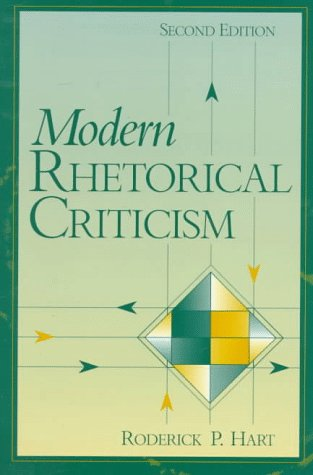 Modern Rhetorical Criticism  2nd 1997 9780205196654 Front Cover