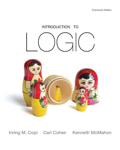 Introduction to Logic  14th 2011 (Revised) 9780205828654 Front Cover