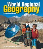 World Regional Geography A Development Approach 11th 2015 edition cover