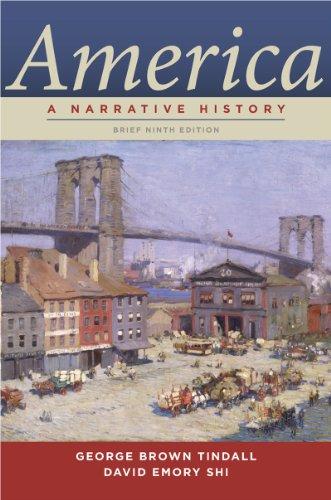 America A Narrative History 9th 2013 edition cover