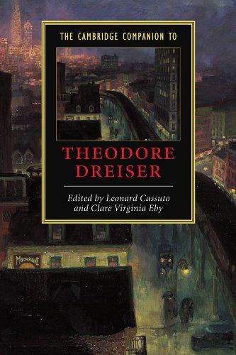 Cambridge Companion to Theodore Dreiser   2003 9780521894654 Front Cover