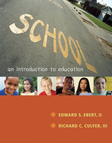 School An Introduction to Education  2008 edition cover