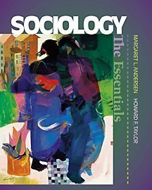 Sociology Understanding a Diverse Society  2001 9780534566654 Front Cover