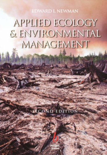 Applied Ecology and Environmental Management  2nd 2000 (Revised) edition cover