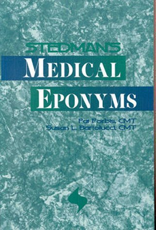 Stedman's Medical Eponyms   1998 9780683079654 Front Cover