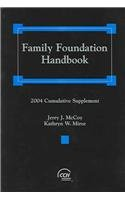 Family Foundation Handbook: 2004 Cumulative Supplement  2004 edition cover