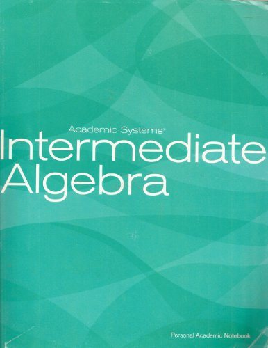 Intermediate Algebra  N/A edition cover