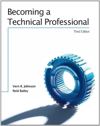 Becoming A Technical Professional - Text 3rd (Revised) edition cover