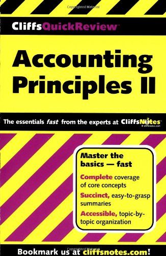 Accounting Principles II   2000 edition cover