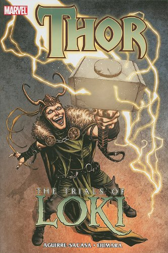 Thor The Trials of Loki N/A edition cover