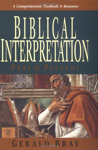 Biblical Interpretation Past and Present  1996 edition cover