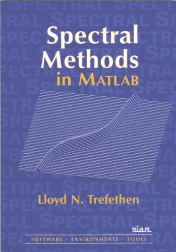 Spectral Methods in MATLAB   2000 edition cover