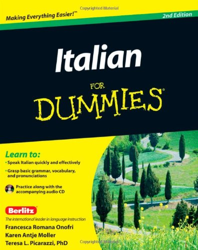 Italian for Dummies�  2nd 2011 edition cover