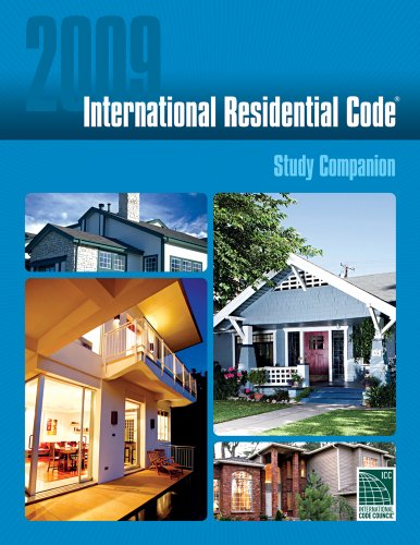 2009 International Residential Code Study Companion   2009 edition cover