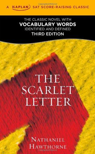 Scarlet Letter A Kaplan SAT Score-Raising Classic 3rd 2011 edition cover